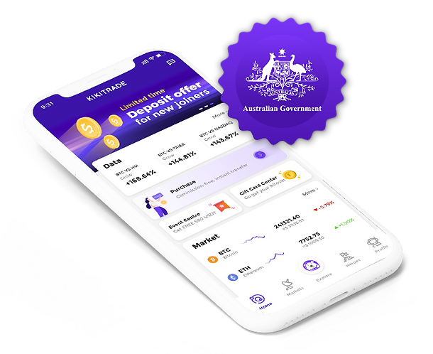 Industry leading secured wallet regulated by AUSTRAC