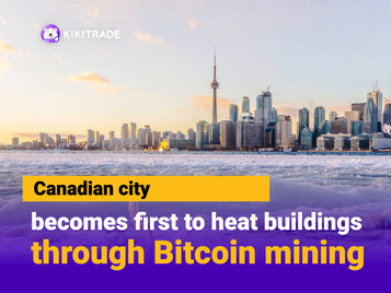 Canadian city plans to supply residents' heat using Bitcoin mining