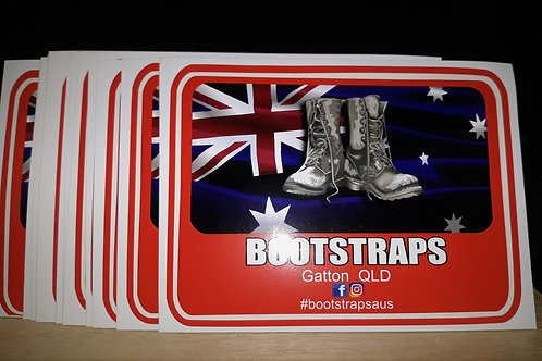 BOOTSTRAPS Stickers