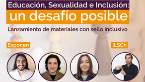 Imperdible Webinar : Educación, Sexualidad e Inclusión: Un desafío posible