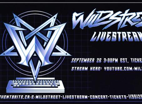 This Saturday (9/26) Wildstreet rock YouTube 3pm EST!!