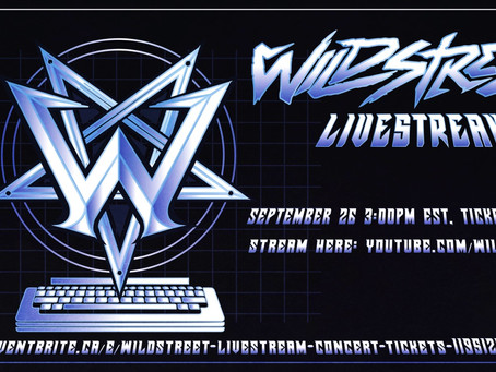 This Saturday (9/26) Wildstreet rock YouTube 3pm EST!!