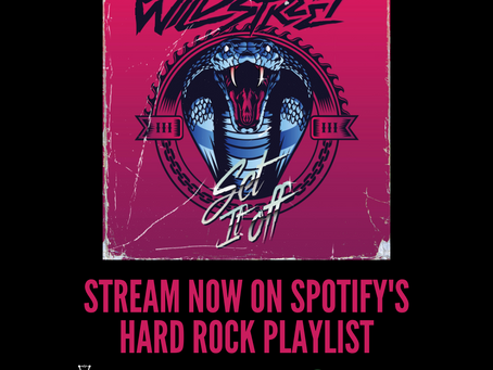 'Set It Off' in Top 10 on Spotify Hard Rock