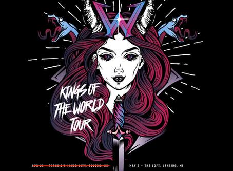 #KingsOfWorldTour Update!