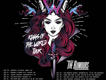Kings Of  World Tour returns to the USA in July!
