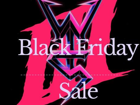 Black Friday sale week!