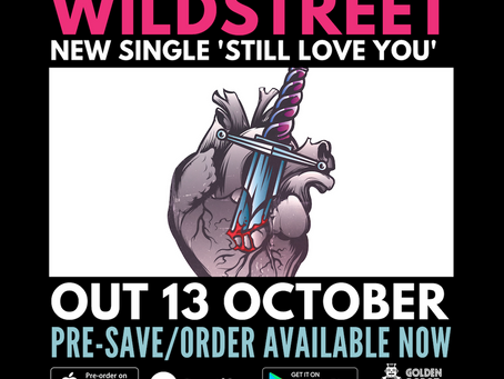 Our new single 'Still Love You' will be out on Golden Robot Records on 10/13!