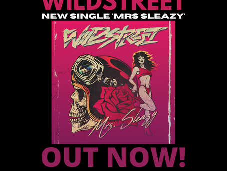 Out now! 'Mrs.Sleazy'