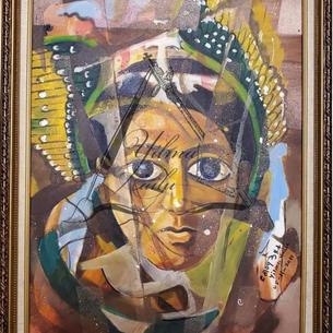 Abstract Ethiopian Art