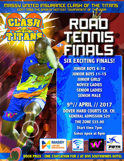 PRTA Clash of Titans Finals Poster