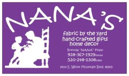 Nana's Fabric by the Yard