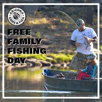 AZGFD Family fishing Day