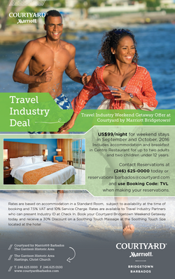 Courtyard | Travel Deal Flyer