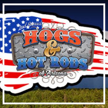 Hogs & Hot Rods.