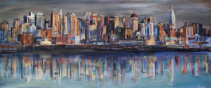 Reflecting on New York City
