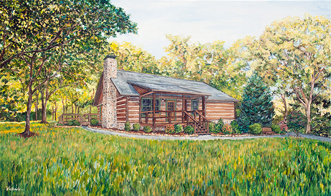 Tennessee Mountain Cabin