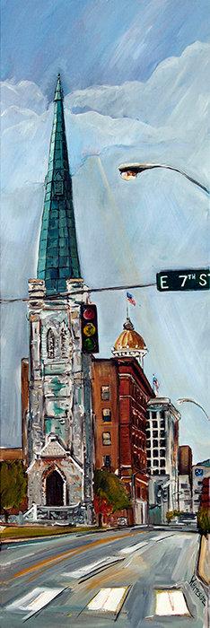 7th Street Steeple - Chattanooga