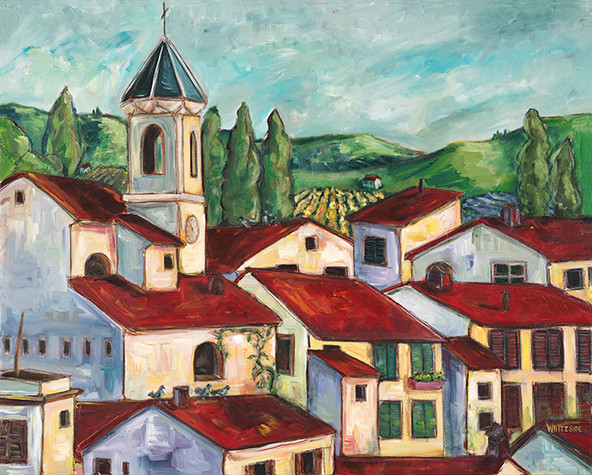 Red Roofs of Provence