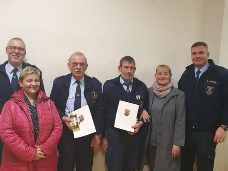 110 Jahre im Feuerwehrdienst
