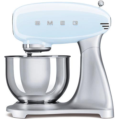 SMEG SMF01PBUS 50's Retro Style Aesthetic Stand Mixer, Pastel Blue