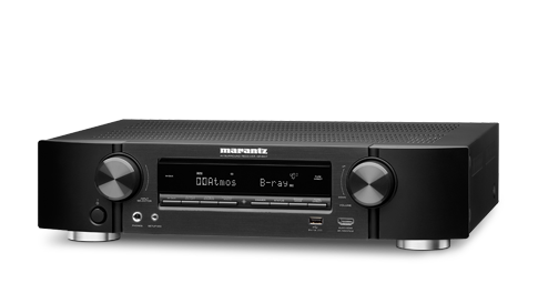 Marantz NR1710 Slim 7.2Ch 4k Ultra HD AV Receiver with HEOS Built-in