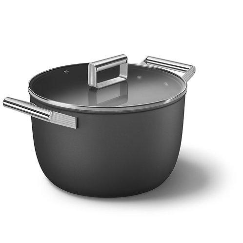 SMEG CKFC2611BLM Retro-style Casserole Dish 26cm, Black