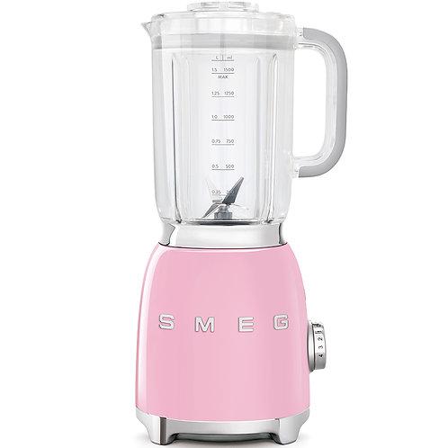 SMEG BLF01PKUS 50's Retro Style Aesthetic Blender, Pink