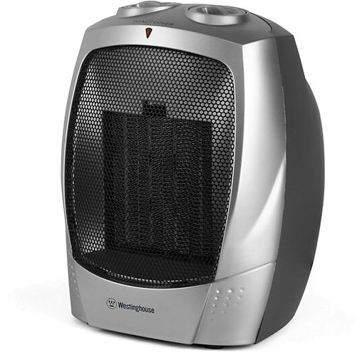 Westinghouse WHD0903 Ceramic Heater with Adjustable Thermostat