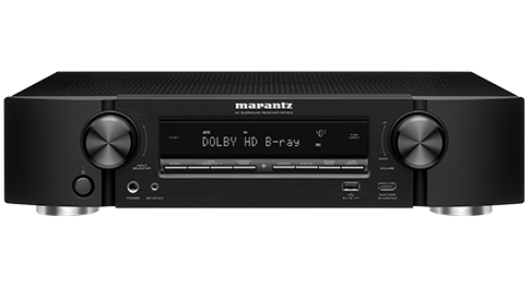 Marantz NR1510 Slim 5.2Ch 4K Ultra HD AV Receiver with HEOS Built-in