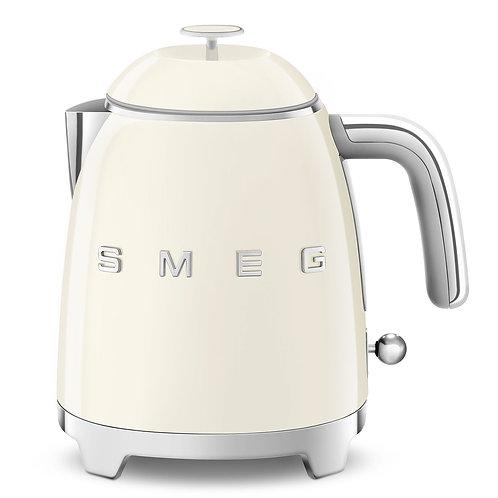 SMEG KLF05CRUS 50's Retro Style Aesthetic Electric Mini-Kettle, Cream