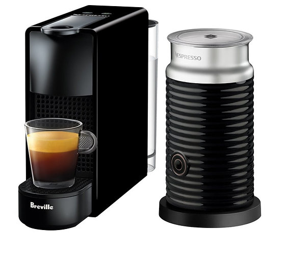 Nespresso Essenza Mini Aeroccino Bundle