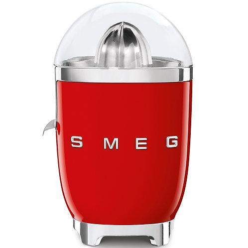 SMEG CJF01RDUS 50's Retro Style Aesthetic Citrus Juicer, Red