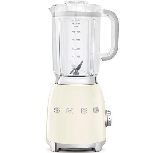 SMEG BLF01CRUS 50's Retro Style Aesthetic Blender, Cream