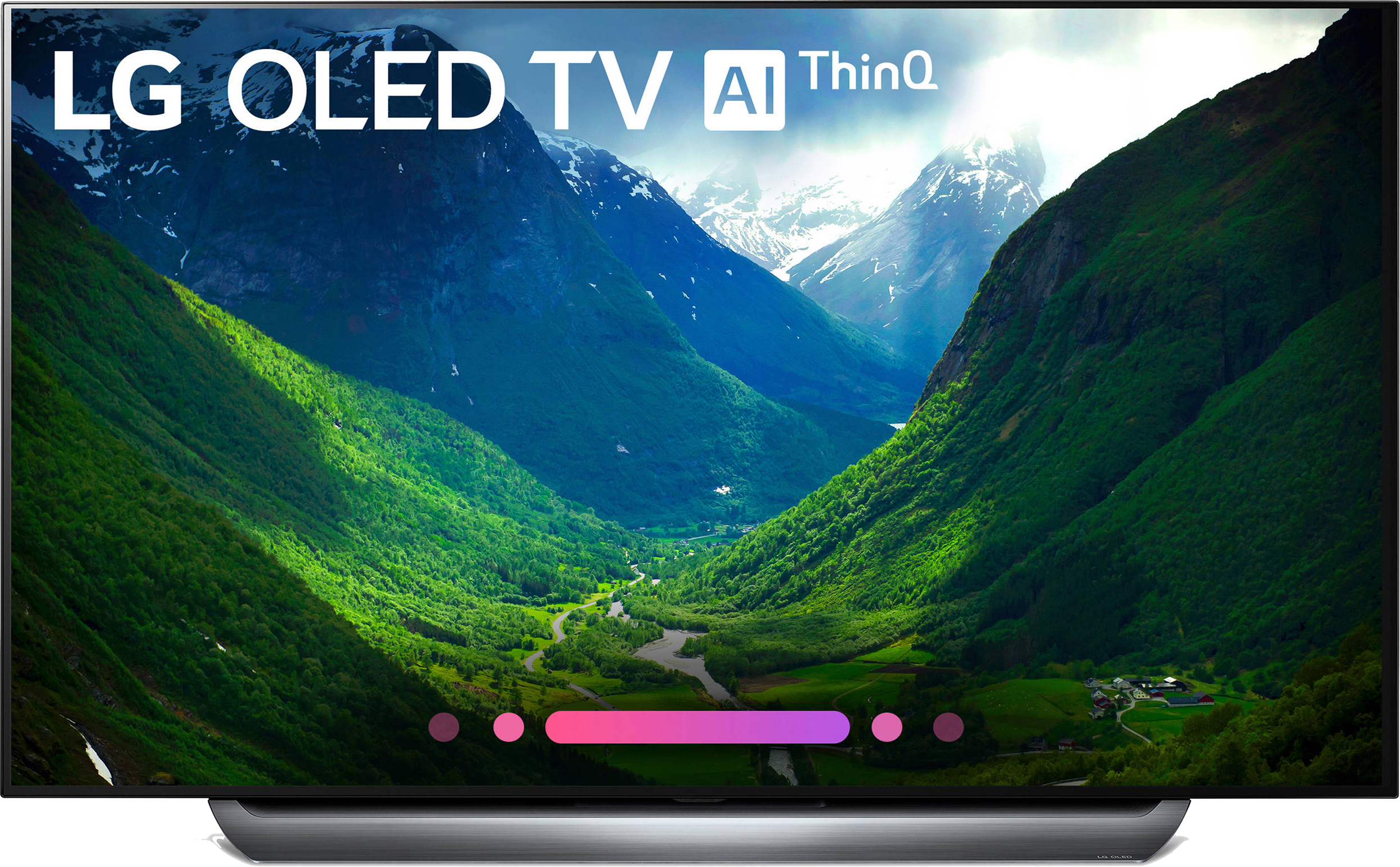 LG OLED55C8PUA 55'' HDR UHD Smart OLED TV   lucaselectronics