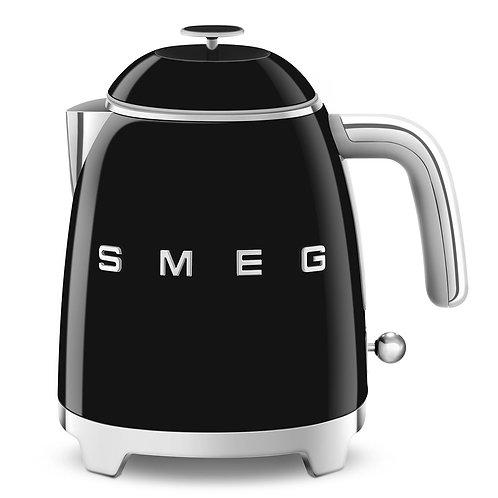 SMEG KLF05BLUS 50's Retro Style Aesthetic Electric Mini-Kettle, Black