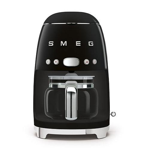 SMEG DCF02BLUS 50's Retro Style Aesthetic Drip Coffee Machine, Black