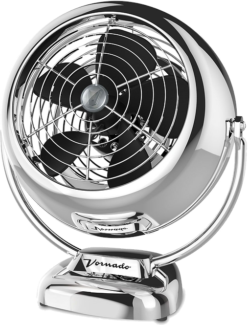 Vornado VFAN Vintage Air Circulator - Chrome