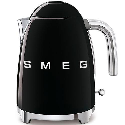 SMEG KLF03BLUS 50's Retro Style Aesthetic Electric Kettle, Black