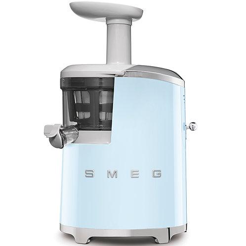 SMEG SJF01PBUS 50's Retro Style Aesthetic Slow Juicer, Pastel Blue
