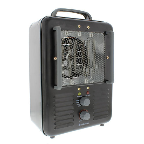 Comfort Zone CZ798BK Ceramic Forced Hot Air Electric Heater