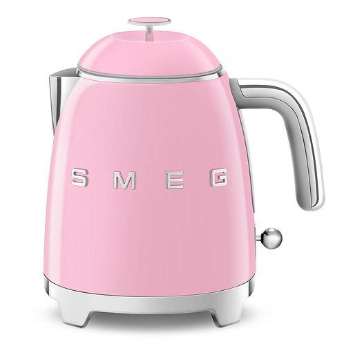 SMEG KLF05PKUS 50's Retro Style Aesthetic Electric Mini-Kettle, Pink