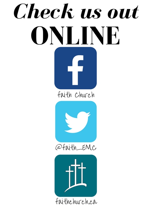 In Church Marketing Material