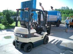 10 Toyota 7FBL15-10325 - A
