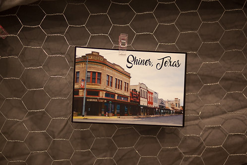 Shiner Downtown Postcard