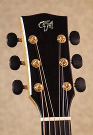 OM guitar ebony headplate