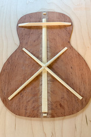Back bracing - X-brace