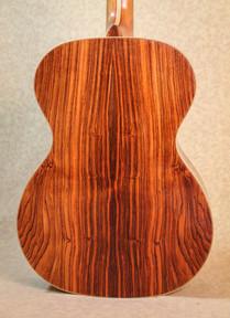 Brazilian rosewood over EI rosewood OM guitar body