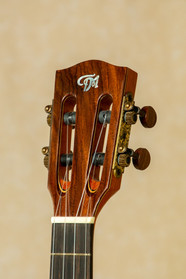 Curly rosewood headplate