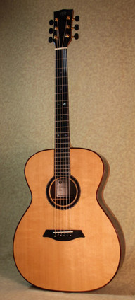 Malaysian Blackwood OM guitar with Sitka top