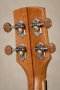 Tenor ukulele with three piece neck